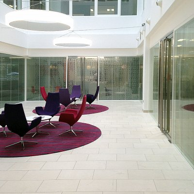 Etch vinyl manifestation for Jones Lang Lasalle